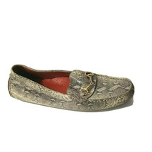 Cole Haan Slip-on Driving Loafers Flats Snake Print Women Size 8.5 B d37557 - $39.59