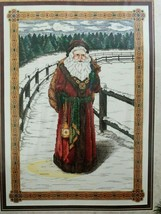 Classic Stoney Creek Collection St Nicholas Cross Stitch Pattern Christmas Santa - $11.99