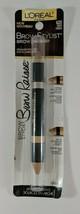 L'Oreal Paris Brow Stylist Brow Raiser Highlighter Duo #625 Deep .16 oz New - $6.92