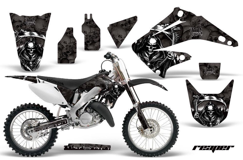dirt bike kit graphique d u00e9calque pour honda cr125r cr250r