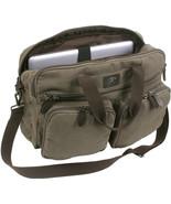 Canvas Briefcase Backpack Convertible Laptop Knapsack Messenger Shoulder... - $45.99