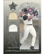 2001 Leaf Rookies & Stars Dressed For Success Frank Thomas 4 White Sox - $4.00