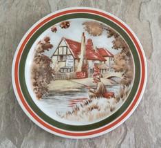 Rosenthal Porcelain Small Plate Plaque Fisherman Germany Vintage - $15.00