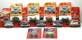 11pc Diecast Lot 2005 Johnny Lightning Volkswagen Vans+1998 Matchbox VW Concept+ - $70.11