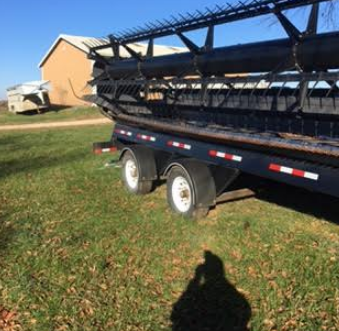 2012 Agco 9250 Header FOR SALE IN OVERBROOK KS 66524