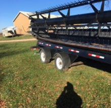2012 Agco 9250 Header FOR SALE IN OVERBROOK KS 66524 image 1