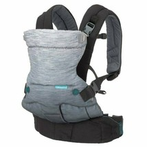 Infantino Go Forward Evolved Ergonomic Infant Baby Carrier, Gray - $49.49