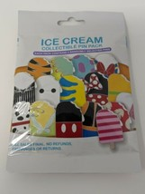 Disney Characters Ice Cream Mystery Pin Pack 5 Pins SEALED - $17.81