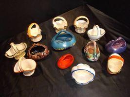 Czechoslovakia Ceramic Basket Decor - AA18-1368-B Vintage image 6