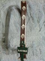 Ralph Lauren Damen Neu Braun Künstlicher Stoff Gürtel Größe S Breite: 2.5cm - $32.61