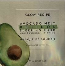 Glow Recipe Avocado Melt Retinol Sleeping Mask BNIB + RETINOL EYE SLEEPING 5mL image 7