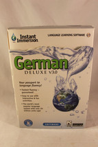 Instant Immersion German Deluxe V3.0 PC Languag... - $18.87