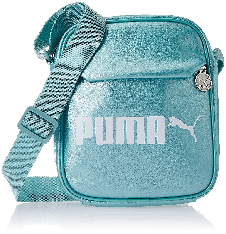 dbcf4a17d8 Puma Synthetic 18 cms Aquifer-Metallic Messenger Bag (7500402) - £49.66 GBP