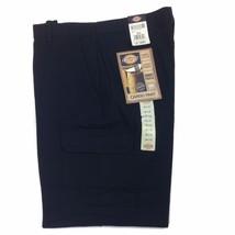 Dickies Men's Loose Fit Cargo Pant, 23214RBK Ke 05, Black - $33.95