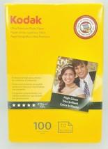 Kodak Ultra Premium Photo Paper High Gloss 100 Sheets (Factory Wraped) - $11.88