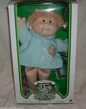 Vintage Cabbage Patch Kids 25TH Anniversary Baby Doll Stuffed Animal Plush Toy - $73.87