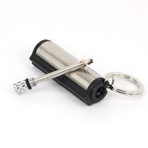 MFG Permanent Match Keychain Emergency Lighter Waterproof Outdoor Campin... - $8.32