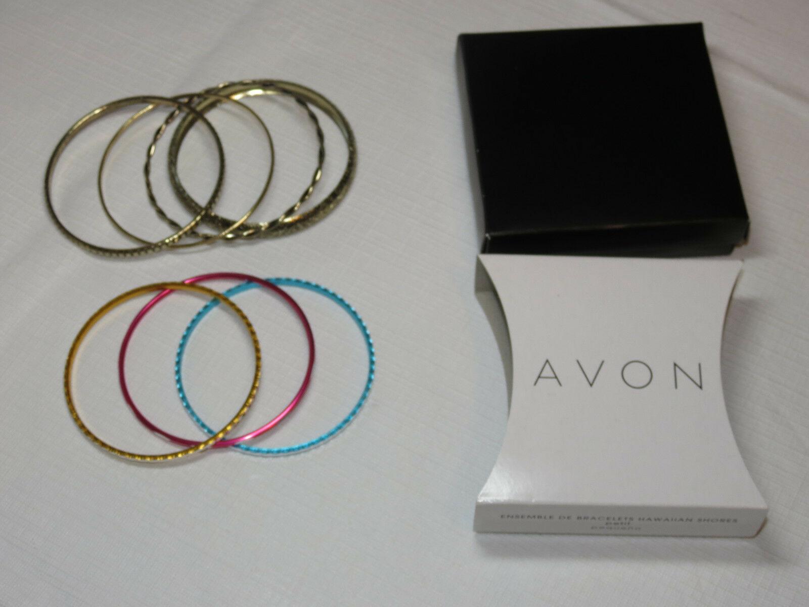 Femmes Avon Hawaïen Shores Bracelet Petit 7 Bracelets Multi F3610691 Nip