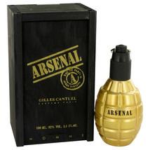 Arsenal Gold by Gilles Cantuel Eau De Parfum Spray 3.4 oz (Men) - $11.43
