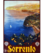 """11x14""""Poster on Canvas.Home Room Interior design.Travel Italy.Sorrento.6565 - $28.05"""