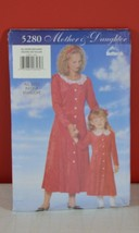 Butterick Mother & Daughter Sewing Pattern All Sizes Included #5280 Dres... - $10.09