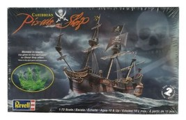 Revell Caribbean Pirate Ship Model 1:72 Scale SEALED - $29.69