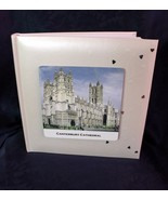 White Book-bound Fleur De Lys 10 x 9ins Wedding Personalised Photo Album #1 - $38.48