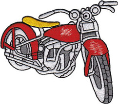 Application Vintage Red Bike Patch - $12.11