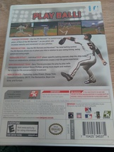 Nintendo Wii Major League Baseball 2K9 ~ COMPLETE image 4
