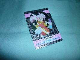 ULTRA RARE JAPAN Sailor moon special foil kira silver card chibiusa amad... - $85.00