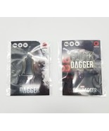 SDCC 2018 Cloak & Dagger 2 Marvel Button Pin Lot Convention Exclusive Fr... - $19.34