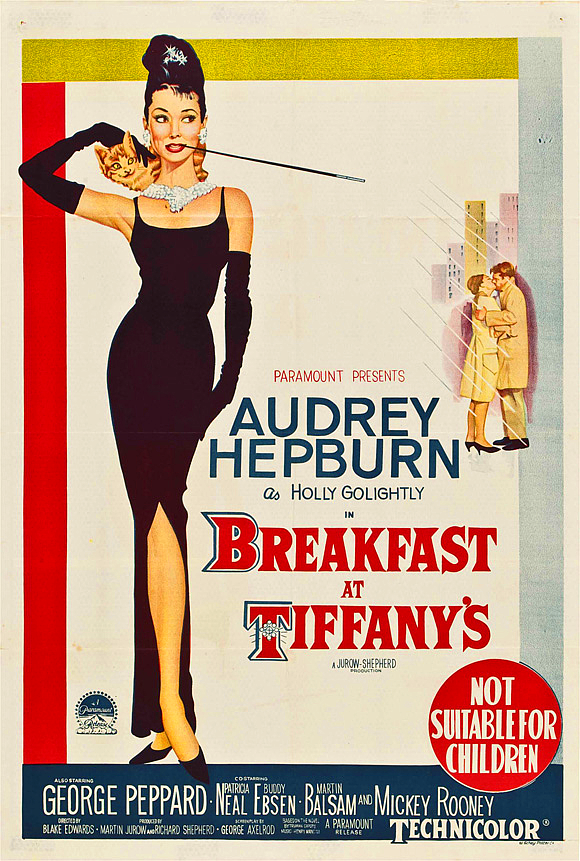 Breakfast at tiffanys austrailian poster 1961
