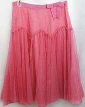 NWT Marc Jacobs Bright Berry Mesh Skirt 4 - $63.34