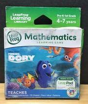 LeapFrog Disney Pixar / Finding Dory Mathematics Teach Learning Game / L... - $18.79