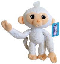 "Fingerlings Monkey White Glitter Plush 9"" Posable Bendable Stuffed Toy W... - $11.21"