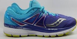 Saucony Triumph ISO 3 Running Shoes Women's Sz: US 8 M (B) EU 39 Purple ... - $54.76
