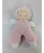 """Eden Pink Doll Plush 10"""" Thermal Weave Waffle Stuffed Animal Toy - $24.95"""