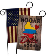 Country Colombia Hogar Dulce Hogar - Impressions Decorative USA Vintage ... - $30.97