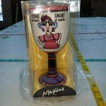 Hallmark Maxine Cobalt Mug Cup - Young At Heart, Smart At Mouth - $19.44