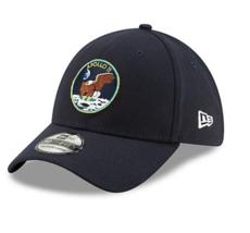 New Era Men's Houston Astros 39THIRTY Cap Machine Apollo 11 Cap Color Navy - $40.00
