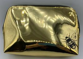 Urban Decay Gold Honey Bee Makeup Cosmetic Bag  - $9.99
