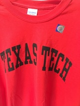 TEXAS TECH University Long Sleeve Jersey Shirt Sz 2XL image 3