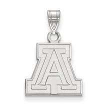 Sterling Silver LogoArt University of Arizona Small Pendant - $55.00