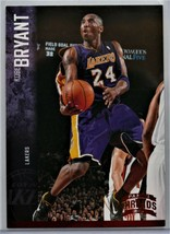 2012-13 KOBE BRYANT Panini Threads Red Parallel Card - $10.00