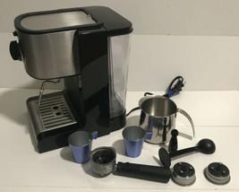 Capresso 116.04 Pump Espresso and Cappuccino Machine , Black and Stainless - $84.15