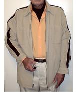 Tan Beige Men's, M, True Vintage, Tan, 1980's, Zip Up Corduroy Jacket, B... - $19.95