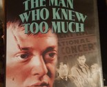 Alfred Hitchcock's The Man Who Knew Too Much -Peter Lorre (DVD)