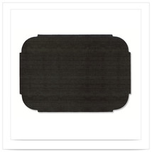 9 3/4 x 14 Black Decorator Placemats/Case of 1000 - €170,84 EUR