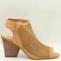 Vince Camuto Women Slingback Sandals Dastana Perforated Leather Open Toe - $45.00
