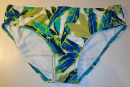 Alex Marie Size 8 SHIRR SIDE TUNNEL PANT Leaf New Womens Bikini Bottoms ... - $58.41